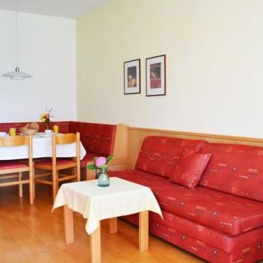 living room Merano large apartment