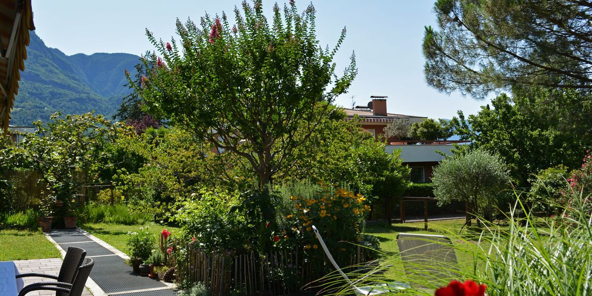 Holiday rental Merano with garden