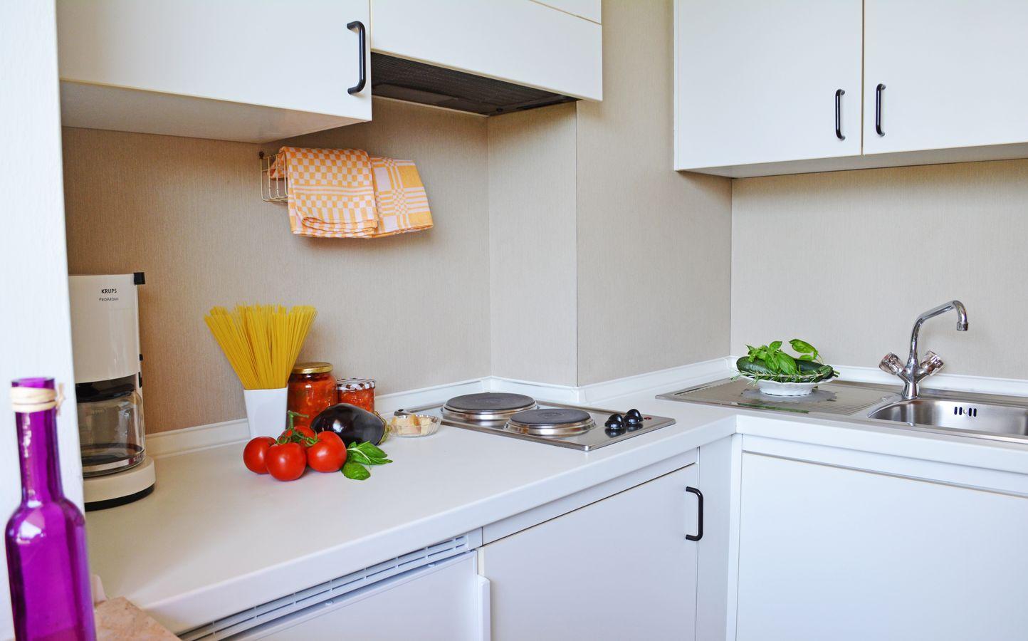 Appartamento a Merano cucina ben attrezzata