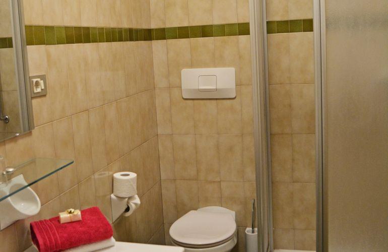 Badezimmer 1-Raum-Fewo Appartement Huber