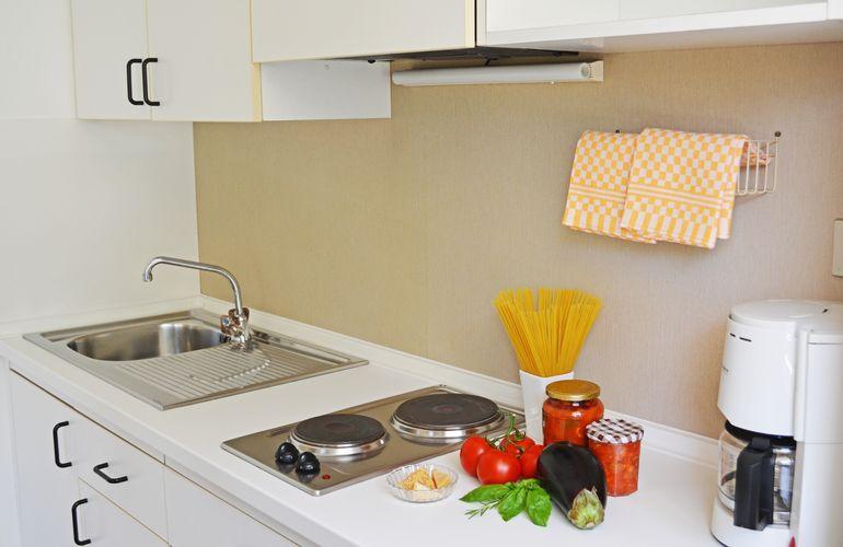 Kitchen apartment 3 South Tyrol