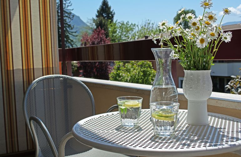 Holiday rental South Tyrol balcony